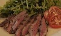 How to Cook Flank Steak at a Low Temperature in the Oven. Lean and full of flavor, flank steak comes from the bottom of the cow's abdomen. It's filled with a lo