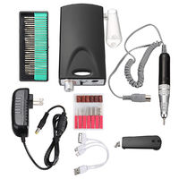 20000RPM Rechargeable Electric Nail Art Drill Machine Polisher Pedicure Manicure Set