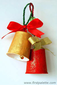 Paper Cup Bell | #Christmas #papercup #pipecleaner #holiday #tutorial