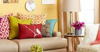 Get This Look: Color Me Casual Living Room | 7 tips from Remodelaholic.com #getthislook #livingroom #lovecolor