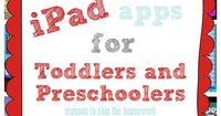 These ipad apps for toddlers and preschoolers are all educational in some ways and are a great way to help your child learn basic skills at an early age.