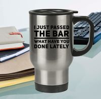Law Graduate Gift - I Just Passed The Bar Travel Coffee Mug - Future Attorney Present Stainless Steel Cup - New Job $27.95