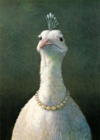 *Fowl With Pearls* by Michael Sowa [seen in Amelie's bedroom scene]