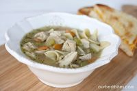 Before you roll your eyes and stop reading this post after seeing the title, let me just get this out of the way: I don't make my own chicken broth. Well, not a