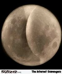 Funny supermoon close up #funny #humor #lol #funnypicture #PMSLweb