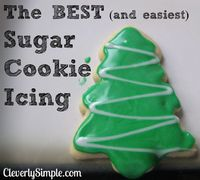 Do you want an easy icing for sugar cookies that leaves everybody wanting more? Yesterday I shared how to make the perfect sugar cookie. Today I want to share how to make a quick and easy glaze/icing that goes perfect with the sugar cookie recipe. And the...