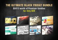 Collections of well known and worthy design bundles for bloggers and designers on black Friday and cyber Monday for AnimHuT loyal readers who are supporting for
