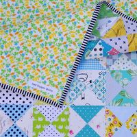 Spring into Spring ~ An Hourglass Quilt | Red Pepper Quilts