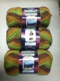 It's that time of year again to start crocheting afghans. Free Bernat Mosaic Yarn Envy would be cool