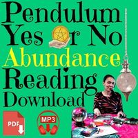 "ABUNDANCE Yes or No PENDULUM Reading�BUY & DOWNLOAD IT NOW �Ÿ""�This is a pendulum reading for abundance themed questions that can be answered with a simple yes or no � + as an added extra, there's a very useful personal development a..."