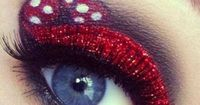 ~Minnie mouse's eye make up~