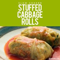 This slow cooker recipe for turkey and cabbage rolls is simple and yummy. If you're looking for recipes for turkey and stuffed cabbage rolls, you've found both