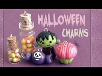 Halloween Charms! Polymer Clay