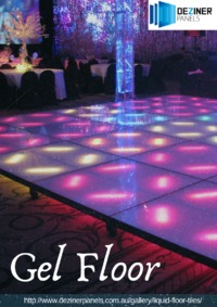 Gel floor
