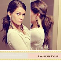 Don't have time to do your hair? This is a 5 min hair do! Put a little more sass to that pony! -Twist your hair away from your face and back as if you would put it into a pony right then.postit with a bobby pin. -Do it to the other side. -Pull your ...