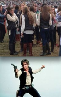 han solos everywhere