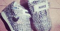 Oh WOW! These are the cutest baby Nike's ever<3