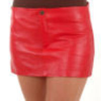 A W Rust LEATHER HIPSTER MINI SKIRT `U106` > Made from soft napa > Approximate length 11.5 / 29 cms > easy to wipe clean > Quality amp; Softness rating: 3/5 http://www.comparestoreprices.co.uk/skirts/a-w-rust-leather-hipster-mini-skirt-u106.as...
