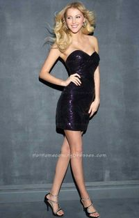 Open Back Black Sexy Short Mini Cocktai Dresses For Homecoming