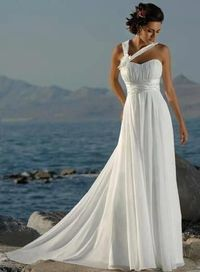 Hey Mi, similar style to what you want in a grad dress eh? Beautiful modern wedding dress