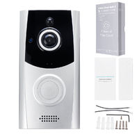 Wireless WiFi APP Remote Video Camera Doorbell Monitoring Alarm Home Security