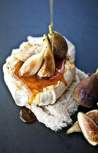 Soft Cheese, Thyme Honey and Figs / Not without Salt