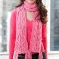 Breast Cancer Awareness Scarf | Craft for a Cure!! FaveCrafts.com