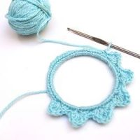 For the crocheters at heart... a DIY crochet ornament tutorial.