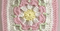 Make this one too! just lovely! Ravelry: Free SmoothFox's Just Peachy Blossom 6x6 pattern by Donna Mason-Svara
