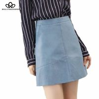 Price: $27.49 | Product: New casual winter high waist PU faux leather women skirt in various colors | Visit our online store https://ladiesgents.ca