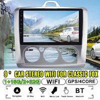 9Inch 2DIN for Android 8.1 Car MP5 Player Quad Core Touch Screen Stereo GPS WIFI AM For Classic Fox