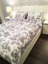 Bedding set queen, 100% Cotton 6pcs AMBIANCE duvet cover queen bed set Queen Size (Set includes: duvet cover, flat sheet, 4 pillow cases) $159.99