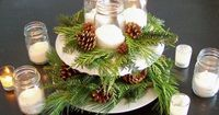 Christmas centerpieces on tables make for great ice-breakers. Matched with special gift hampers or christmas gift baskets, centerpieces can make an extravagant