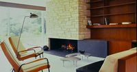 mid century modern living in the present time | This is a gorgeous work of MCM genius from Richard Neutra.