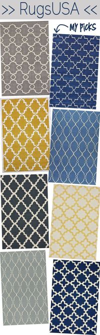 best website for Rugs... wait for the 75% off sales!