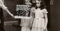 The Shining (1980) twins were played by a pair of real life twins named Lisa & Louise Burns. They doubtlessly hold the record for being actors most famous for being on screen the least amount of time. Neither made another film.