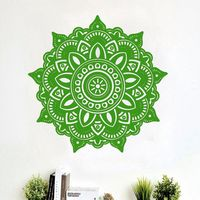 Mandala Flower Indian Bedroom Wall Decal Art Stickers Wall Stickers for Kids Rooms $6.84