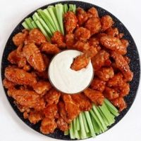 Might these healthy boneless wings for the game tomorrow. Little oil and very little carbs.
