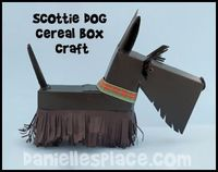 Scottie Dog Cereal Box Craft for Kids www.daniellesplace.com
