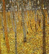 Birch Forest, Klimt