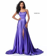 Purple Sherri Hill 51631