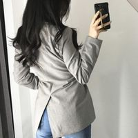 Elegant Double Breasted Autumn Winter Fashion Office Party Women Blazer,NEW,on Sale!