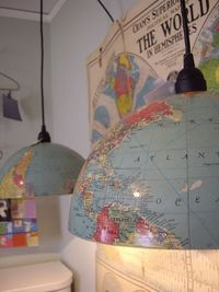 The market may be tanking but the demand (and price) for vintage globes is riding high