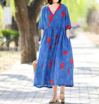 Womens Maxi dress, Tunic dresses, Linen Maxi Dress, Summer Dress, Loose Dress, Casual Dress, Women Dress, sundress