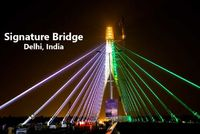 Signature Bridge Delhi - Latest Tourist Attraction in Delhi