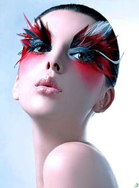 Extreme eye makeup. Fantasy face makeup. Amazing lip designs. All very inspiring for a professional photographer based in Bury St. Edmunds, Suffolk