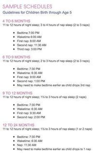Image result for easy routine total sleep time
