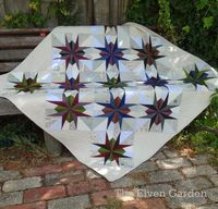 Lily's Quilts: Make with Oakshott St Louis Star tutorial by Jess Frost
