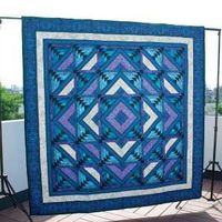 Four Winds | January/February 2012 | McCall's Quilting Finished Size 80½� x 80½�