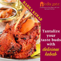 Barra Kebab - India Gate belgrave  Tantalise your taste buds with delicious kebab. �œ… Order: https://bit.ly/OrderIndiaGate �œ… Opening: 4:00 PM onwards #indiagatebelgrave #caulfieldsouth #indianrestaurant #foodlovers #vic